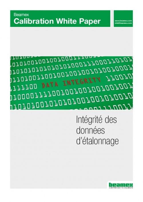 Intégrité des données d'étalonnage
