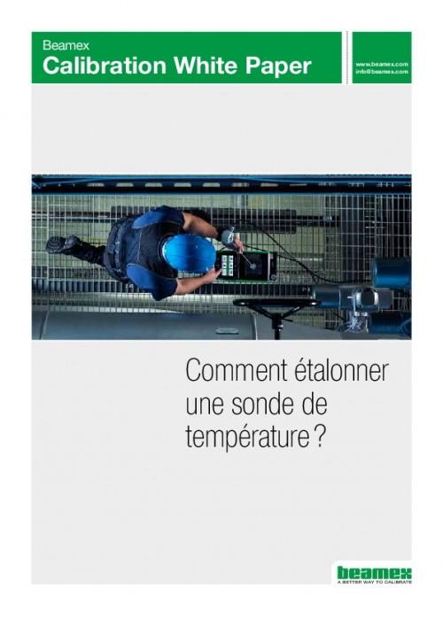 Comment étalonner une sonde de température